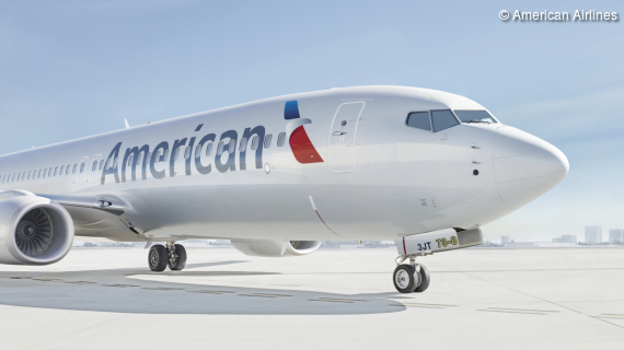 American Airlines - nonstop nach Nordamerika